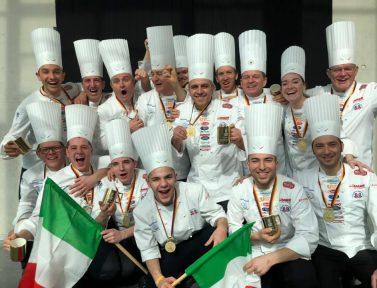 Oro Olimpico per la Nazionale Italiana Cuochi. Edizione 2020